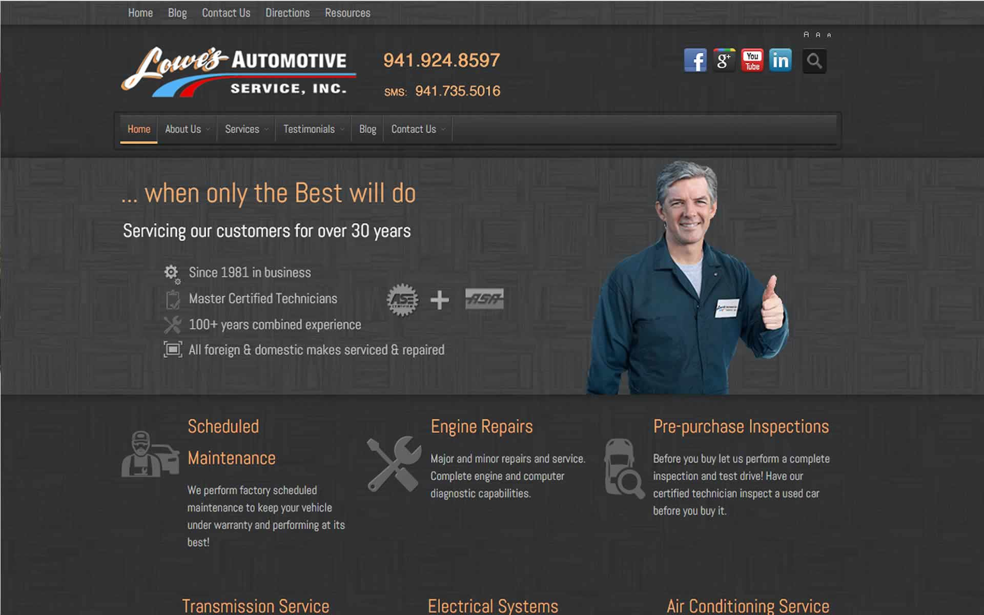 Lowe's Automotive Service