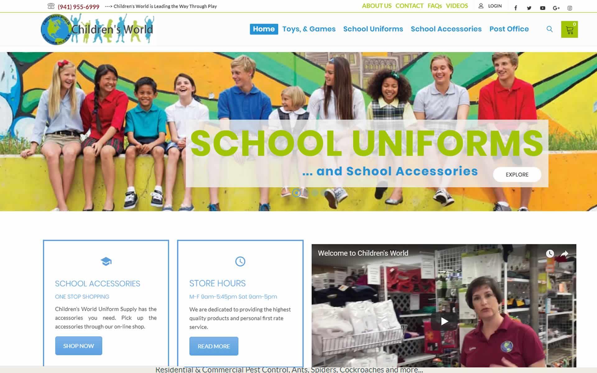 Children's World Uniform Supply