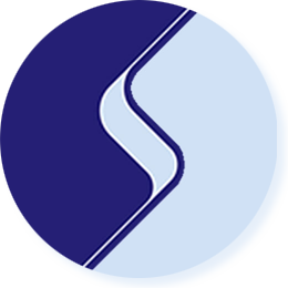 Web logo round